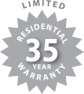 Limited Residential 35 Year Warranty