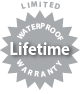 Limited Waterproof Lifetime Warranty