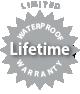 Limited Waterproof Lifetime Warranty