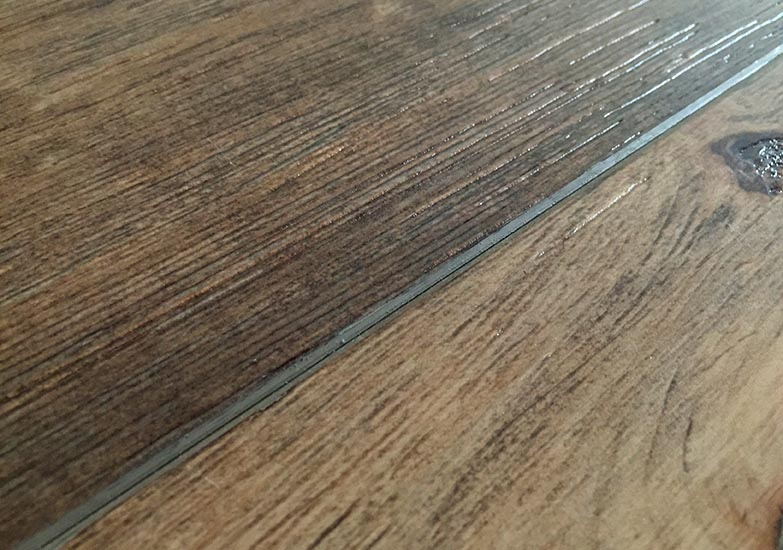 Detail image of hardwood floor.