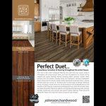 Advertisement for wood flooring.